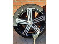 Vw 18 inch Cadiz alloy wheels