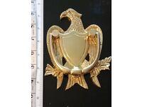 Beautiful Door Knocker. American Eagle. Solid Brass/