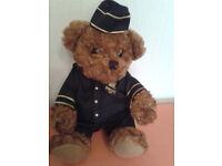 Teddy Bear in Northern Belle Train Uniform.