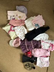 Girls bundle from 1-2 years up to 6 years