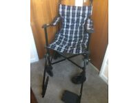 Tartan patterned Travel Wheelchair and Carry Bag £45 ONO