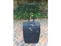 Samsonite Suitcase (2 available), Black Fabric, 63cm tall, Expandable, 2 Wheels