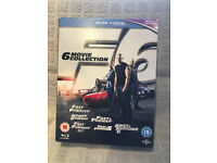 Fast and Furious 6 Movie Collection Blu ray - Great Condidtion