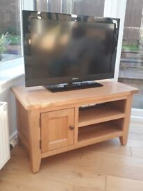 Real Oak, TV unit- immaculate condition