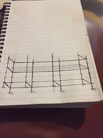 Cuplock scaffold