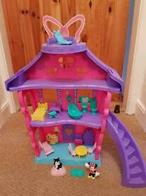Fisher price minnie mouse house