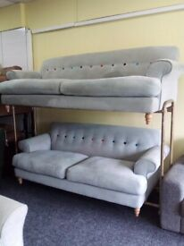 Sofology grey 3*2 sofas tags attached delivery available bargain