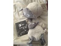 Grey ewan the dream sheep and comforter
