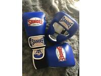 Sandee 16oz Gloves and Head Guard