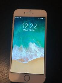 iPhone 6 64gb rose gold completely working and unscratched