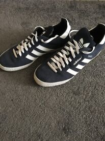 Samba Adidas trainers.