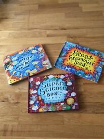 Fantastic set of Science, Grammar and Times Tables Books