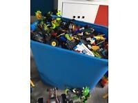 Lego multiple bricks, figures and sets