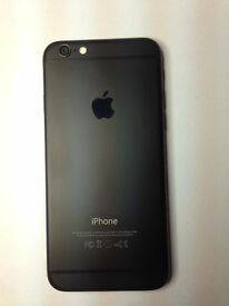 iPhone 6 Limited edition-black matte 16Gb factory unlocked (any network) BRAND NEW !