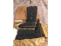 Brand new ugg boots bailey button navy