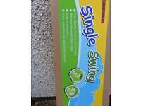 Childs single garden swing brand new