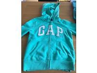 Girls gap hoodie age 8-9
