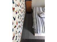 Double bed divan base and mattress optimum memory
