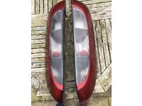 Corsa C tail lights,