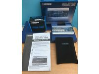 Boss Micro BR - Digital Multi 4 Track Recorder & Effect Processor + Power Supply