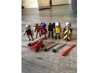 Playmobil knights figures bundle