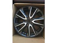 """2 x Mazda CX-3 18"""" alloys for sale Design 157, Diamond Cut"""