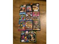 11 kids dvds