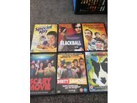 6 x comedy dvds
