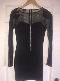 Size 8 River Island body con Dress
