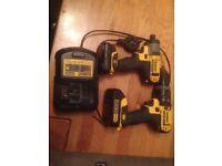 Dewalt drill impact driver