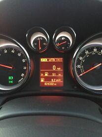 Vauxhall Astra 1.4 turbo GTC
