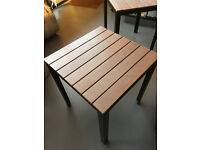 2 IKEA Falster Outdoor Tables