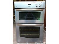 New World Built-in Electric Double Oven in Stainless Steel