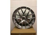 "LAST SET 4 x 20"" Alloy Wheels to fit BMW 3,4,5 Series VW Transporter T5,T6"