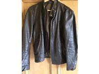 Men's schott leather jacket £30