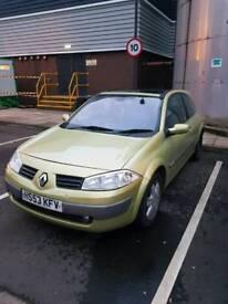 Sell Renault megan 1.9 diesel