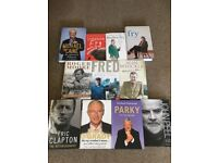 Great Selection of Autobiographies!