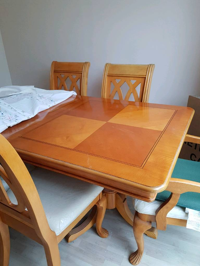 Extendable Dinner Table And Chairs Tewkesbury Gloucestershire 15000 Images Map Iebayimg 00 S MTAyNFg3Njg