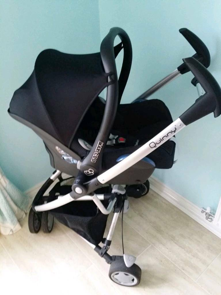 Quinny Zapp Extra complete travel system - immaculate (maxi cosy car