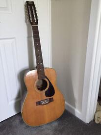 Yamaha FG-312 12 string acoustic guitar c1975