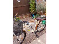 ladys bike as new