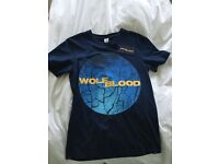 WOLF BLOOD t shirt from CBBC to series children's NEW