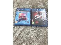 PS4 Gran Turismo & Singstar