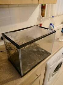 26l fish tank pump and 50w heater