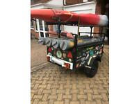 Trailer for carrying boats/ windsurf boards