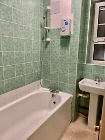 Spacious 2 bed flat in poplar part dss welcome
