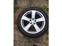 MERCEDES-BENZ S CLASS W221 ALLOY WHEEL WITH 255/45/18 DUNLOP SPORT MAX RT TYRE