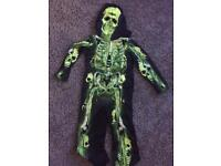 Halloween skeleton 5-6 yrs