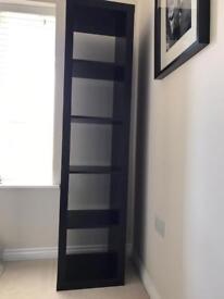 Ikea kallax / expedit storage unit black brown