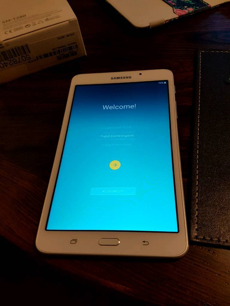 samsung galaxy tab a6 7 inch 8gb wi fi tablet white in swindon wiltshire gumtree